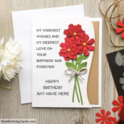 Astonishing Free Handmade Birthday Cards For Best Friends With Name Funny Birthday Cards Online Fluifree Goldxyz