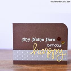 Free Printable Birthday Cards For Men With Name