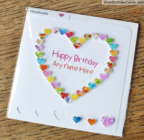 Handmade heart birthday card for sister beautiful handmade heart birthday card for sister bookmarktalkfo Images