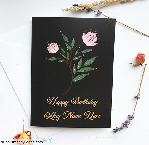 Best Handmade Birthday Card Ideas With Name