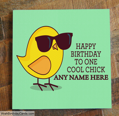 Free Funny Birthday Cards With Name