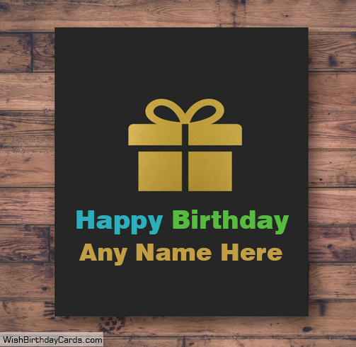 Happy Birthday Brother Greetings Cards With Name