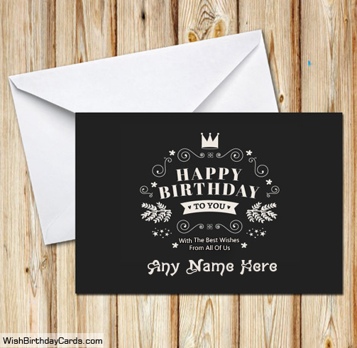 Online Free Birthday Cards For Friends With Name