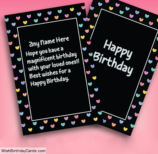 Special Quote Happy Birthday Cards For Friends With Name